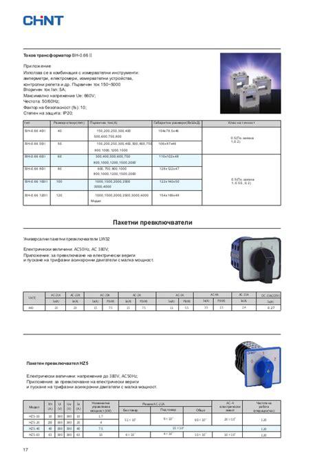 Chint Bh 0 66 40i 30 5a Ct Current Transformer Diameter Diskon chint cataloge