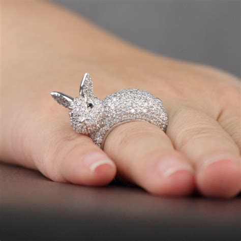 Bunny Ring five rabbit rings