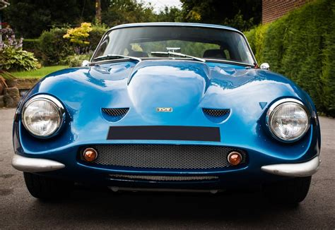 What Is A Tvr Car Free Photo Classic Car Tvr Car Headlights Free Image