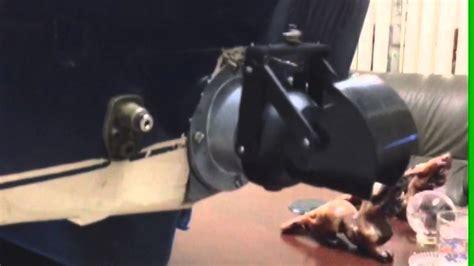 rc boat jet unit graupner jet unit 5 on hirobo boat mechanic test youtube