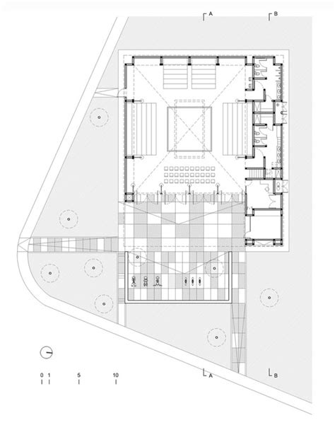 municipal floor plan municipal boxing urb 225 archdaily