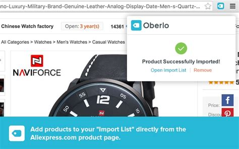 aliexpress oberlo oberlo aliexpress com product importer chrome web store