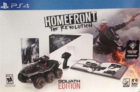Jual Ps4 Homefront The Revolution Reg 2 1 homefront the revolution goliath edition playstation 4