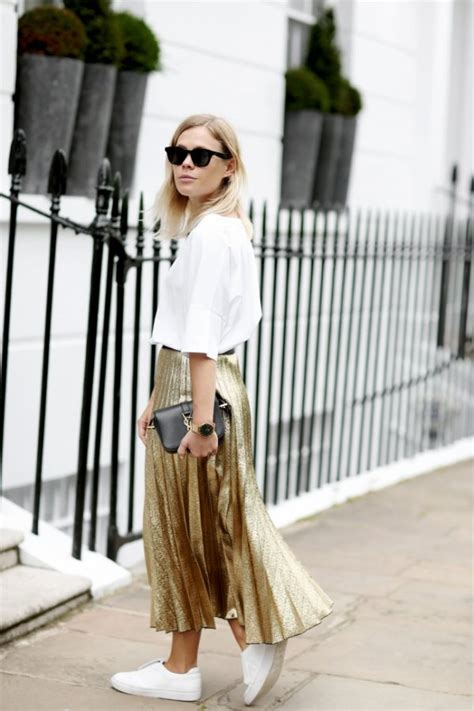 Maxi Rok Reiny the pleated skirt is a changer this