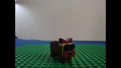 lego dog tutorial how to make a lego dog youtube