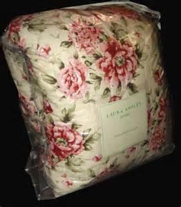 laura ashley cottage rose comforter laura ashley cottage chic pink sage rose twin comforter ebay