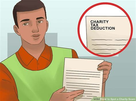 Charity Sweepstakes Scams - 3 ways to spot a charity scam wikihow