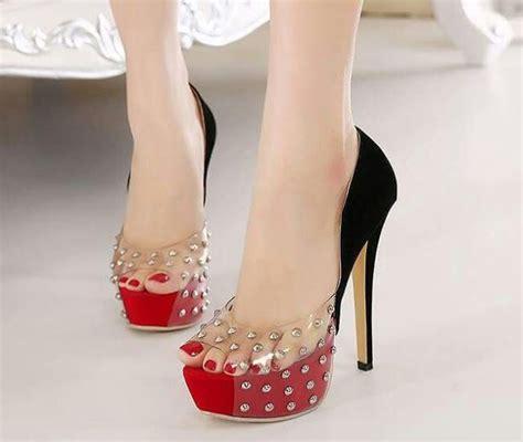 high heels show clivia novias for the of dresses shoes