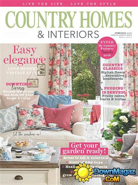 country home and interiors magazine country homes interiors june 2016 187 pdf magazines magazines commumity