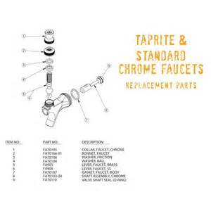taprite amp standard draft beer faucet replacement parts