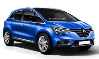 Renault Scenic Wagon Renault Announces Two Debuts For Geneva 2016 Likely The