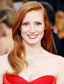 chastain hair color chastain on hair