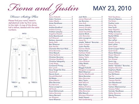 seating chart template wedding wood shop table plans template