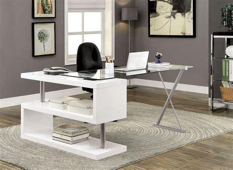 s shaped desk bronwen white high gloss finish desk w unique s shaped