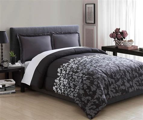 Serena Set Overall by Essential Home Promo Microfiber 3 Comforter Set