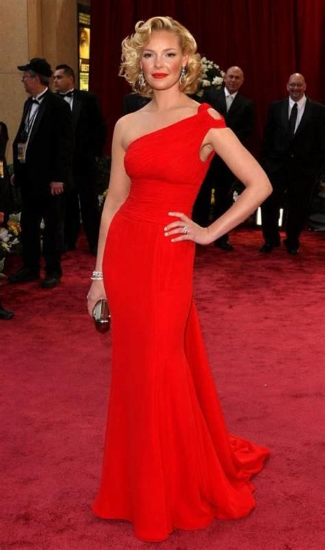 Catwalk To Carpet Katherine Heigl In Bill Blass by Katherine Heigl And Accessories By