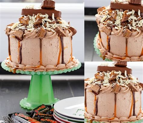 mars bar cake topping overloaded mars bar cake halloween leftovers the