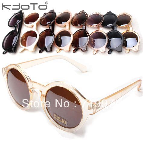 aliexpress glasses 2013 fashion summer vintage round box sunglasses
