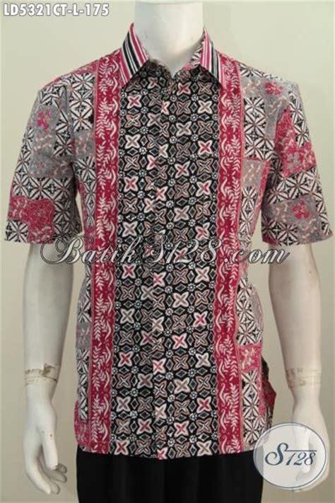 Kemeja Anak Anv Trendy Keren Dan Halus batik kemeja lengan pendek halus desain motif keren buat kerja dan pesta pakaian batik cap