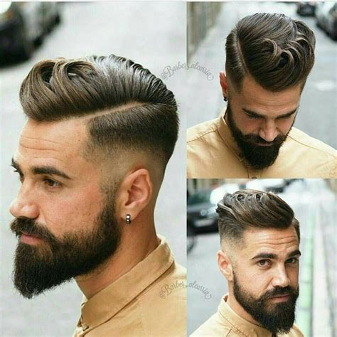 hairstyles for with beard 25 best ideas about mens hairstyles with beard on