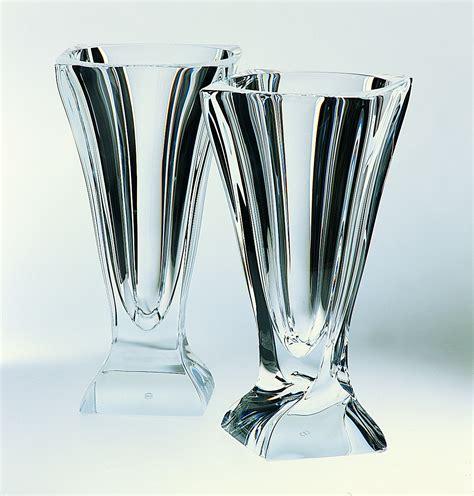 vaso di cristallo vaso in cristallo cm 32 5 cristal s 232 vres di cristofalo