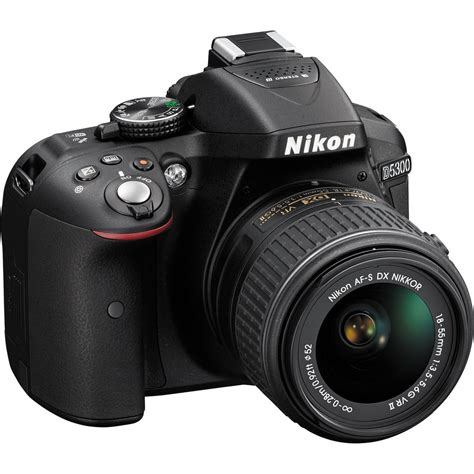 Dslr Nikon D5300 18 55mm Vr nikon d5300 dslr with 18 55mm vr lens black ebay