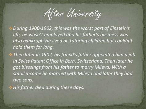 albert einstein quick biography a short biography of albert einstein