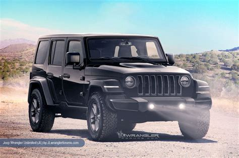 Jeep Wrangler Images 2018 Jeep Wrangler Redesign Release Date Diesel