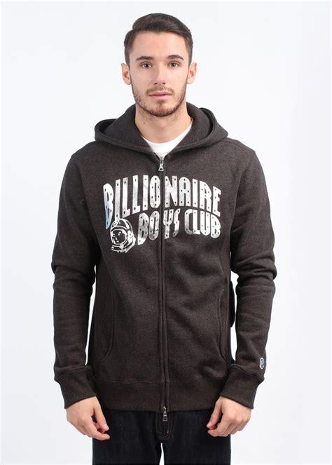 Jaket Zipper Hoodie Sweater Billioners Boys Club billionaire boys club sleeve zip arch hoody black
