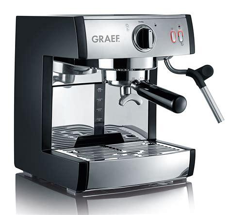 test koffiemachine graef espresso kaffeemaschine pivalla