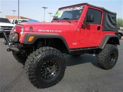 2006 Jeep Lifted Purchase Used 2006 Jeep Wrangler Rubicon 4x4 Lifted Suv