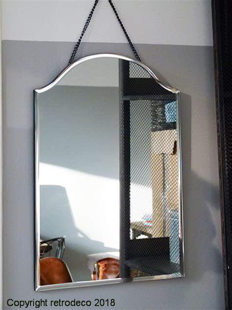 miroir biseaute dessus arrondi deco vintage chehoma