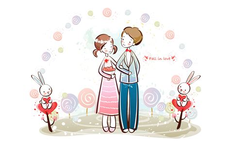wallpaper of cartoon couple valentine s day wallpaper valentine s day cartoon