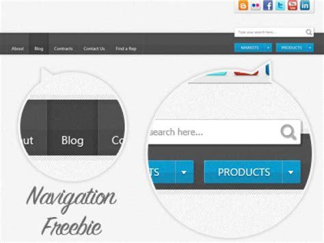header design navigation textured header navigation freebie psd file free download