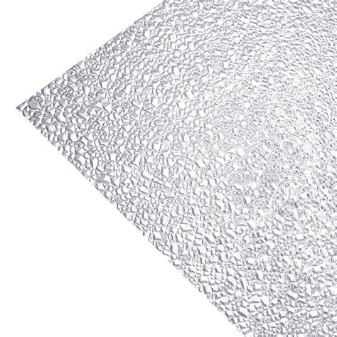 Acrylic Ceiling Light Panels Optix Acrylic Cracked Clear 2 Ft X 2 Ft Lay In Ceiling Light Panel 1435020a The Home Depot