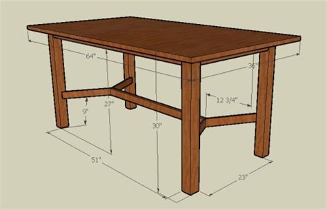 standard kitchen table dimensions best home decoration