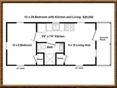 12 X 30 Floor Plan Tiny House Pinterest Floor 12 X 30 House Plans
