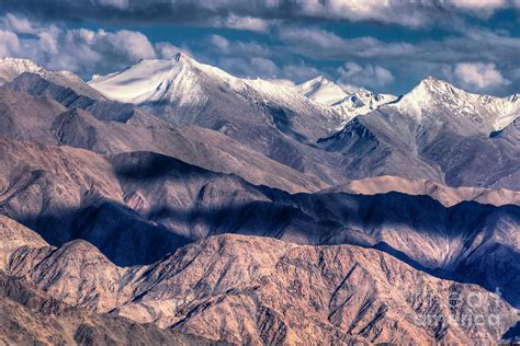 Landscape Pictures Of Kashmir Landscape Of Ladakh Jammu And Kashmir India Photograph By