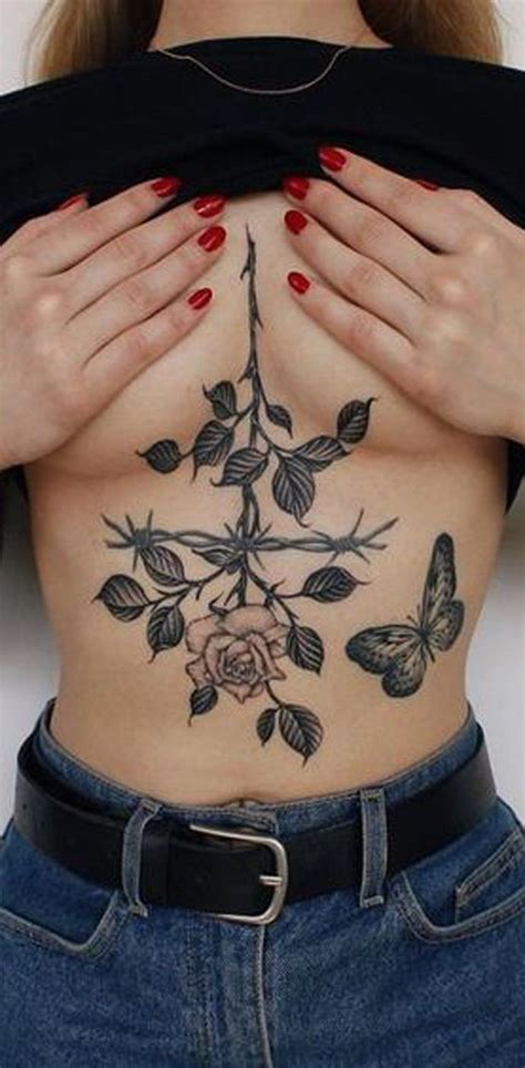 small chest tattoos women best 25 small chest tattoos ideas on