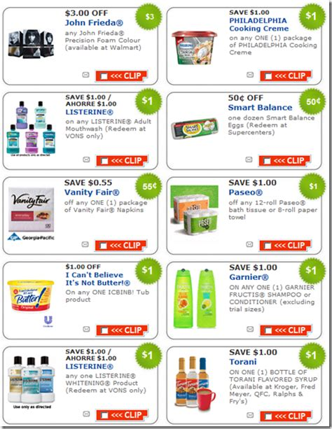 printable food coupons free printable coupons grocery coupons