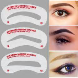 eyebrow stencil template buy wholesale eyebrow stencil kit from china