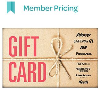 Foodland Gift Card - foodland foodland on buy 150 gift card valid at freshco sobeys get 150 air miles