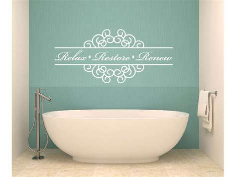 Bathroom Vinyl Decor Wall Decal Ideas For Bathroom Decals For Walls Seashell