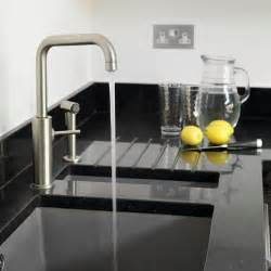 Kitchen Sinks And Taps Sink And Tap Take A Tour Around A Modern White And Wood Kitchen Housetohome Co Uk