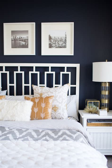 navy bedroom walls the best navy bedroom wall idea