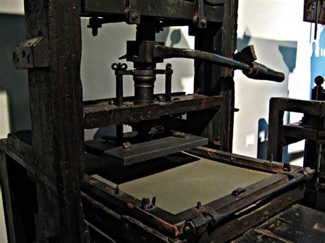 Imagenes De Imprentas Antiguas Y Modernas | una de las imprentas m 225 s antiguas