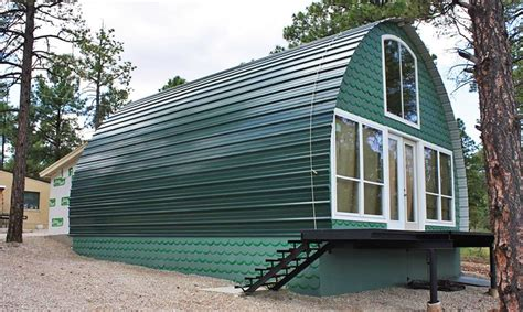 prefab metal cabins prefabricated arched cabins can provide a warm home for