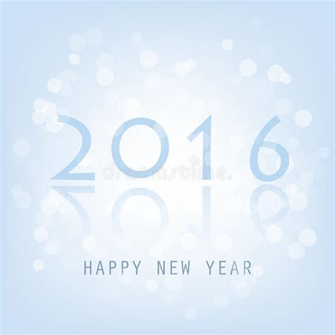 modern new year vector design best wishes blue abstract modern style happy new year