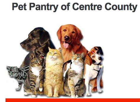 state college pa pet food pantry open for business