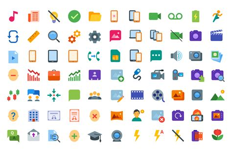 color free 300 free flat color icons